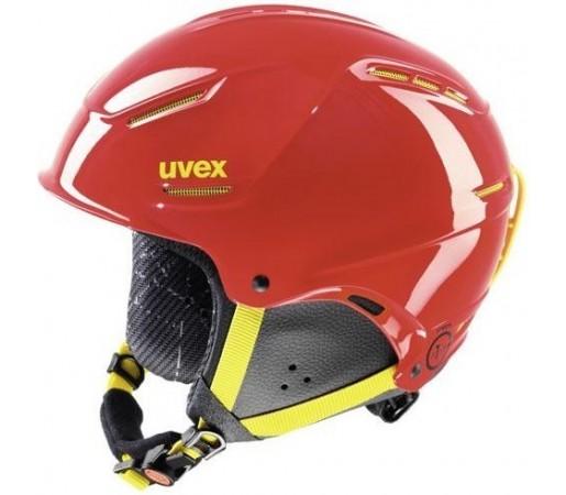 Casca Ski si Snowboard Uvex Plus Junior Rosu/Galben