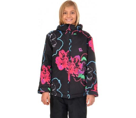 Geaca Schi si Snowboard Volkl Nanga Black Floral