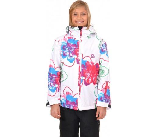 Geaca Schi si Snowboard Volkl Nanga Jr. White Floral