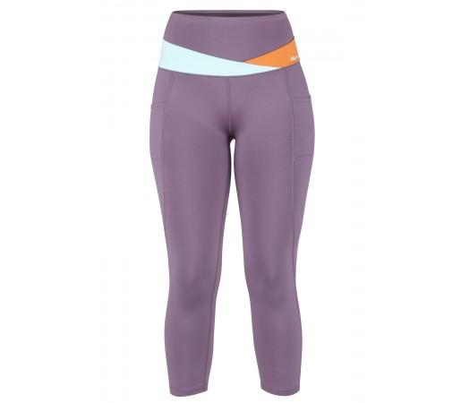 Pantaloni Femei Escalada Marmot Cliff Climber Capri Violet / Mint