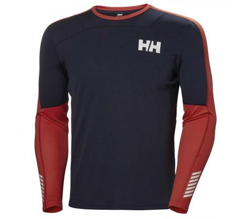 Bluza Termica Barbati Helly Hansen Hh Lifa Active Crew Bleumarin