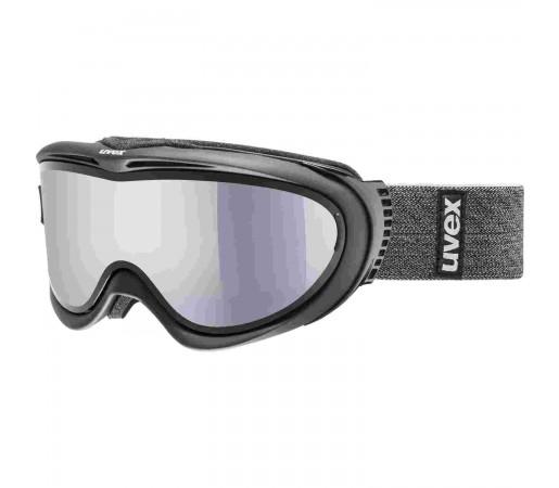Ochelari Ski si Snowboard Unisex Uvex Comanche TO OTG Black Mat Mirror Silver Lasergold