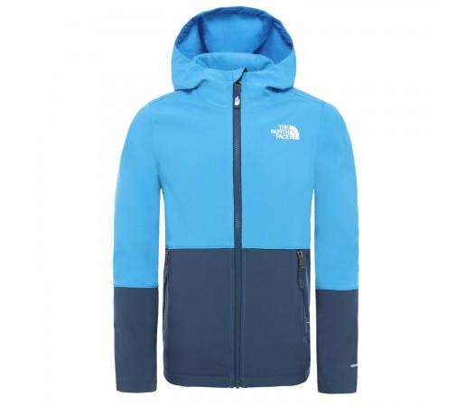 Geaca Softshell Copii The North Face Boys Softshell Jacket Clear Lake Blue (Albastru)