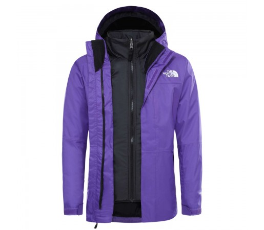 Geaca Ski Copii The North Face Girl'S Freedom Triclimate Peak Purple (Mov)