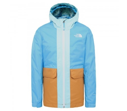 Geaca Ski Copii The North Face Girl'S Freedom Insulated Jkt Ethereal Blue (Bleu)