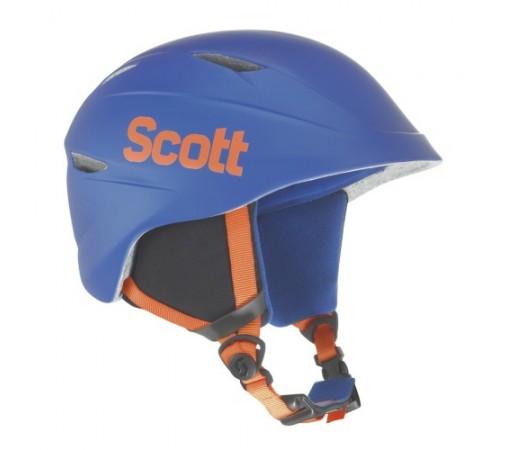 Casca ski si snowboard Scott Keeper Blue Metal