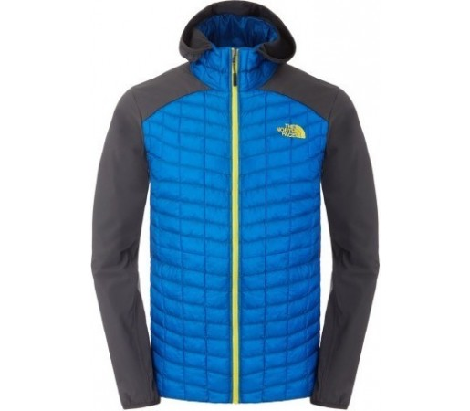 Geaca The North Face M Thermoball Hybrid Hoodie Albastra