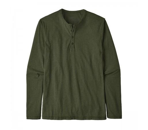 Bluza Barbati Patagonia L/S Daily Henley Alder Green  (Verde)