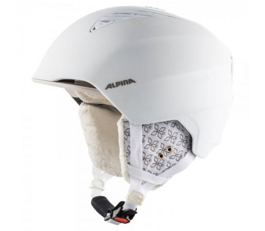 Casca Ski Si Snowboard Unisex Alpina Grand White/Prosecco Matt Alb