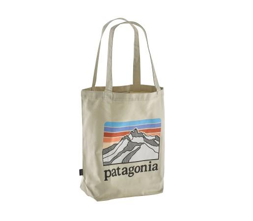 Geanta Patagonia Market Tote Crem