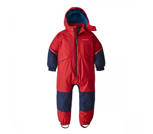 Combinezon Copii Ski Patagonia Snow Pile Rosu