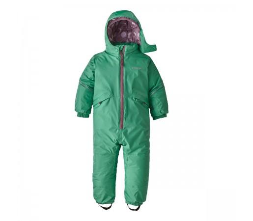 Combinezon Ski Copii 0-5 ani Patagonia Baby Snow Pile One-Piece Plains Green (Verde)