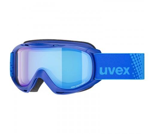 Ochelari Ski si Snowboard Copii Uvex Slider FM Inkblue Mirror Blue Blue