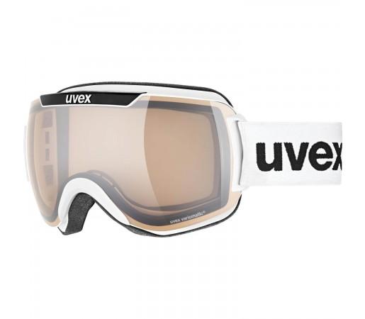 Ochelari Ski si Snowboard Unisex Uvex Downhill 2000 V White Black Mirror Silver