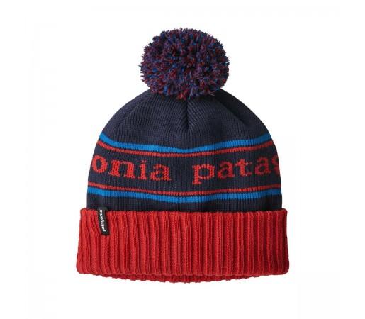 Caciula Copii Patagonia Powder Town Beanie Park Stripe / Fire (Multicolor)