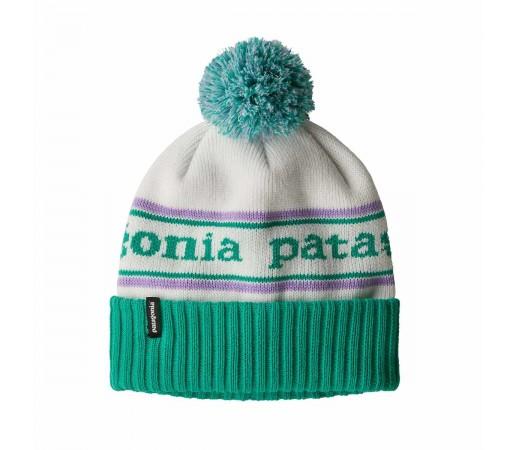 Caciula Copii Patagonia Powder Town Beanie Park Stripe / Plains Green (Multicolor)