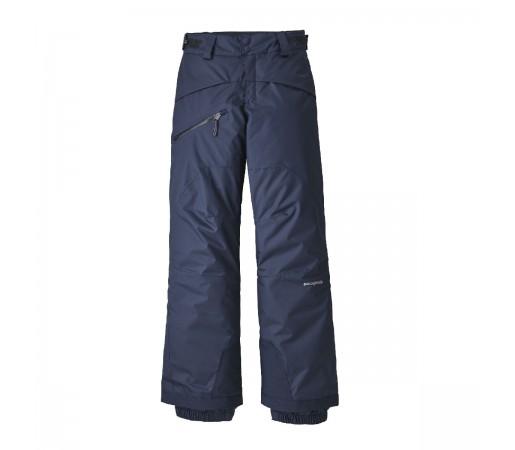 Pantaloni Ski Copii 5-14 ani Patagonia Boys' Snowshot Pants New Navy (Bleumarin)
