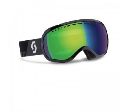 Ochelari de schi si snowboard Scott Off-Grid Negru/Verde Chrome