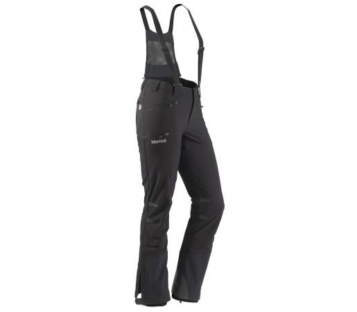 Pantaloni softshell Marmot W Pro Tour Negri