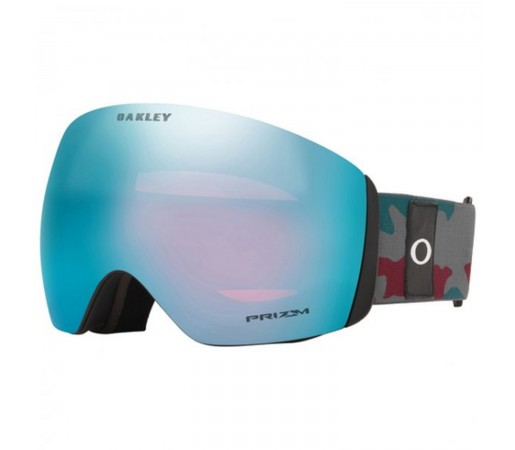 Ochelari Ski Si Snowboard Unisex Oakley Flight Deck XL Gun Metal Prizm Snow Sapphire Iridium Antracit