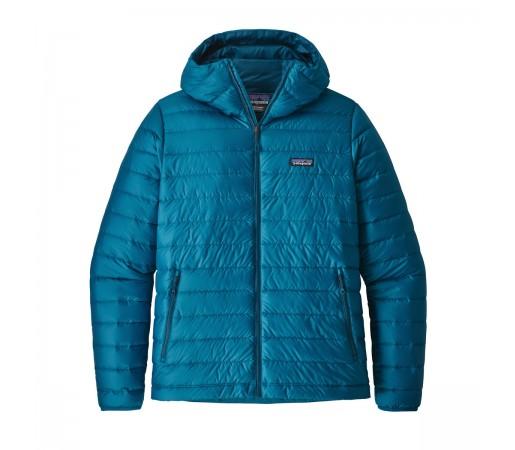 Geaca Barbati Hiking Patagonia Down Sweater Hoody Albastru