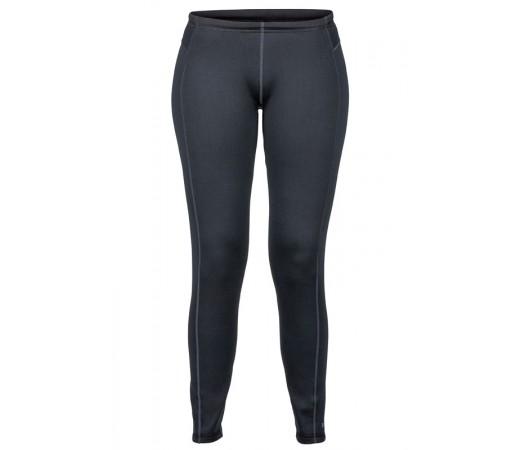 Pantaloni First Layer Marmot Stretch Fleece W Negru
