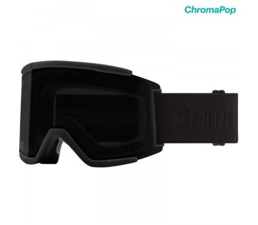 Ochelari Ski Si Snowboard Unisex Smith Squad XL Blackout Chromapop Sun Black Negru