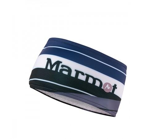 Banda Cap Marmot Sepp Albastra/Neagra