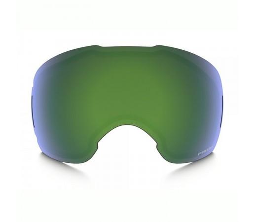 Lentila Ochelari Ski si Snowboard Oakley Airbrake XL Prizm Jade Iridium Verde