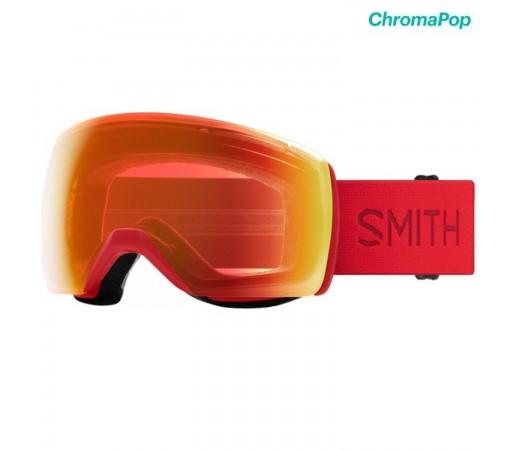 Ochelari Ski Si Snowboard Unisex Smith Skyline XL Lava Chromapop Everyday Red Mirror Rosu