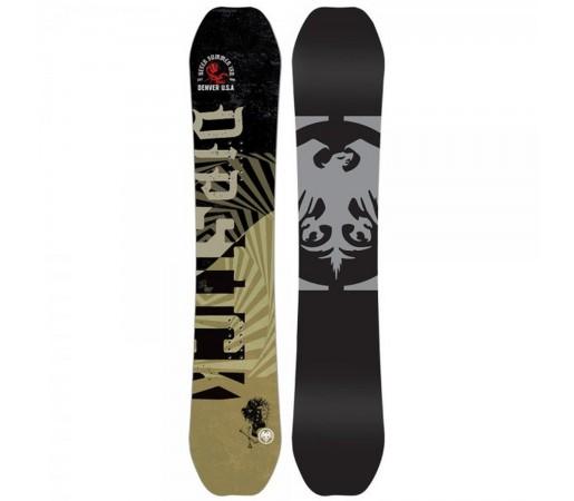 Placa Snowboard Unisex Never Summer Dipstick 153 Negru