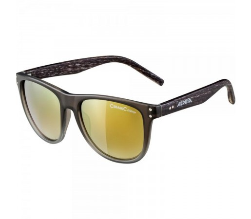 Ochelari De Soare Unisex Alpina Ranom Grey Gradient Matt/Green Mirror Antracit