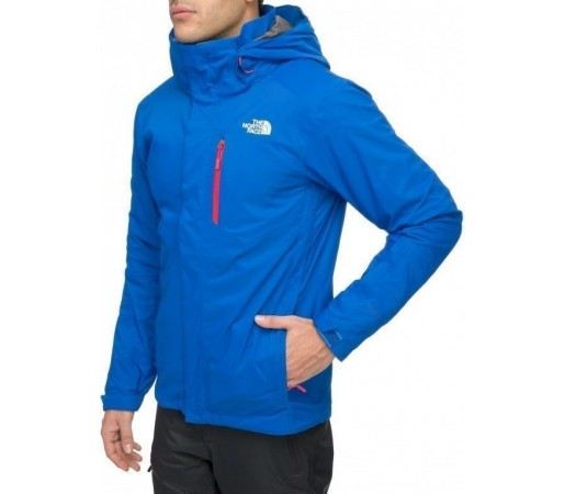Geaca The North Face M Freedom Stretch Triclimate Albastru