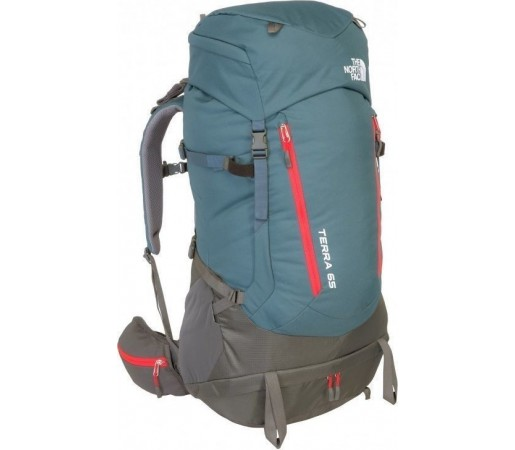 Rucsac The North Face Terra 65 Conquer Blue/Fiery Red