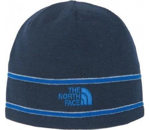 Caciula The North Face Logo Beanie Bleu