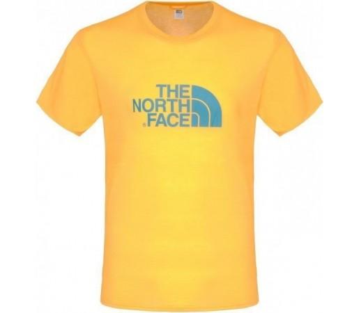 Tricou The North Face M Graphic Reaxion Crew Zinia Orange