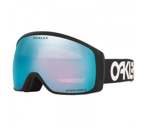 Ochelari Ski Si Snowboard Unisex Oakley Flight Tracker XL Factory Pilot Prizm Snow Sapphire Iridium Negru
