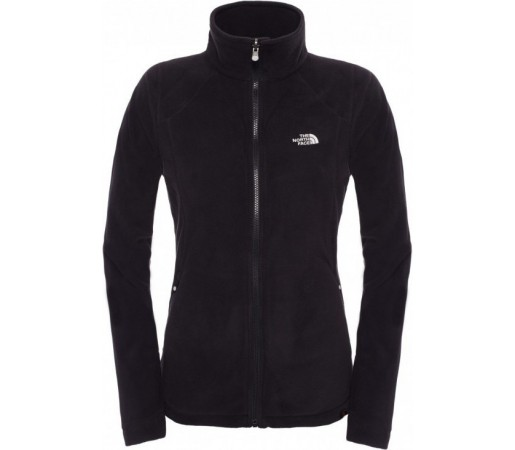 Polar The North Face W 100 Glacier Full Zip Negru