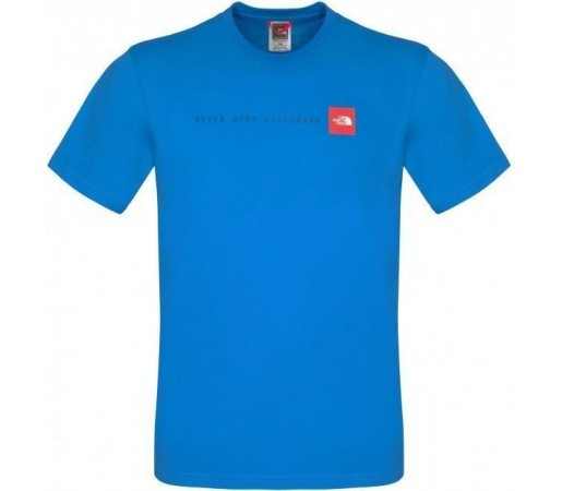 Tricou The North Face M NSE Drummer Blue