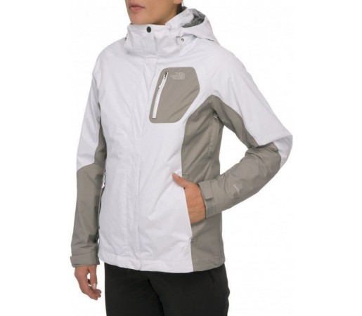 Geaca The North Face W Zenith Triclimate Alb