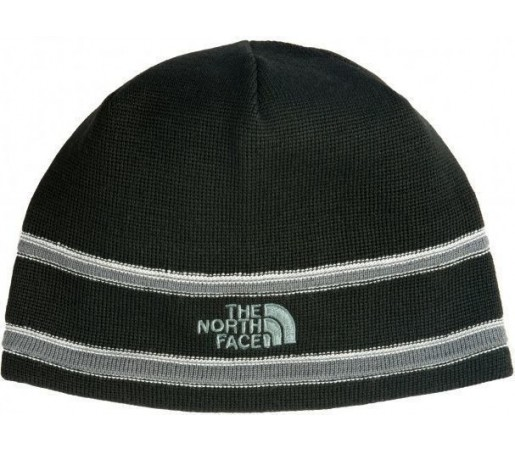 Caciula The North Face Logo Beanie Black/Grey