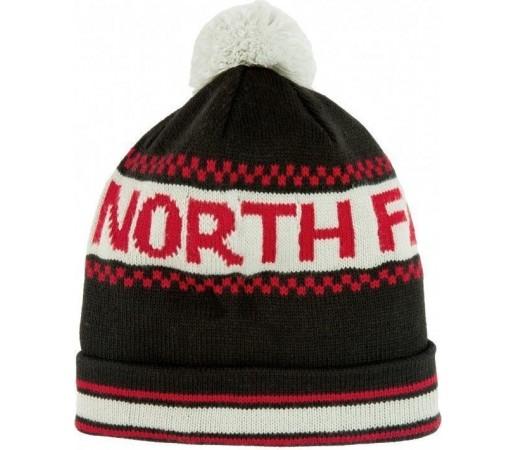 Caciula The North Face Ski Tuke IV Black/Rage Red