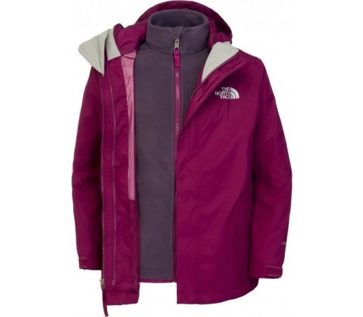 Geaca The North Face B Evolution Triclimate Purple