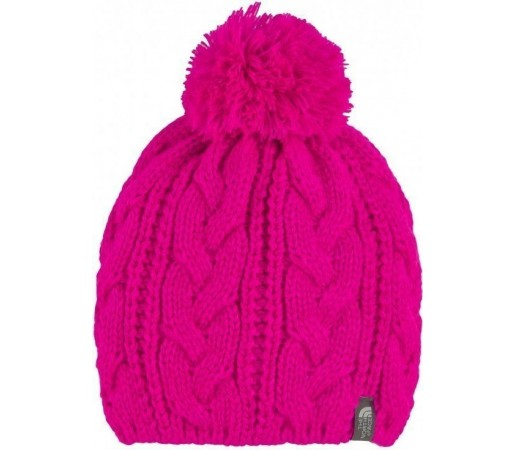 Caciula The North Face Bigsby Pom Pom Pink