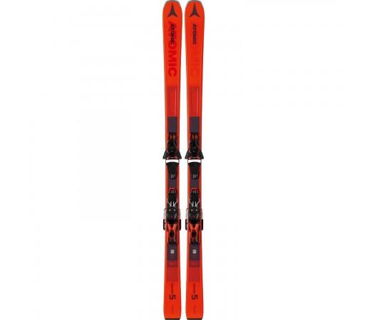 Set Skiuri Unisex Atomic SAVOR 5 Red + Legaturi FT 10 GW