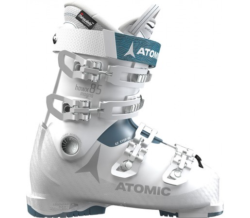 Clapari Ski Femei Atomic Hawx Magna 85 Alb / Albastru 2019