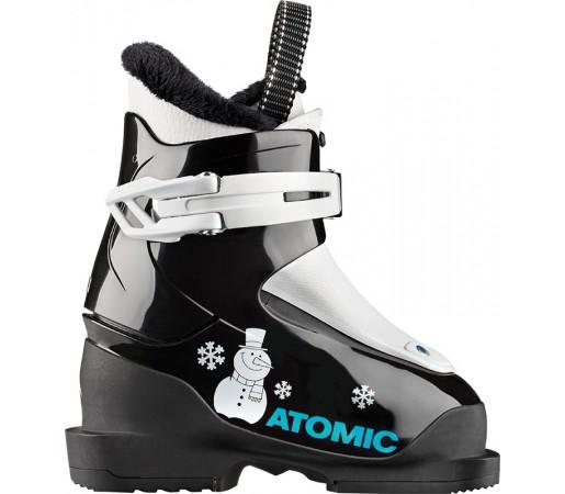 Clapari Ski Juniori Atomic Hawx Jr 1 Negru / Alb 2019