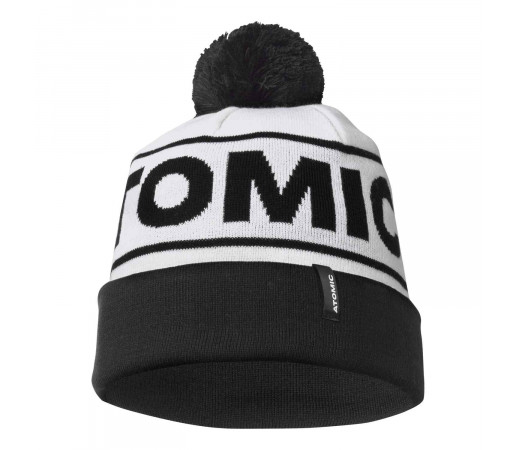 Caciula Atomic Alps Pom Beanie White/Black