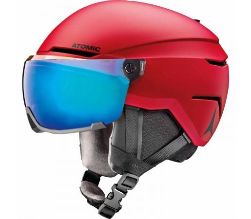 Casca Ski Copii Atomic SAVOR VISOR STEREO Red