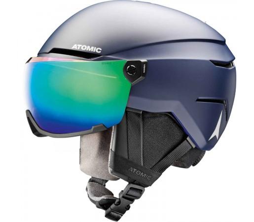Casca Ski Copii Atomic SAVOR VISOR STEREO Dark Blue
